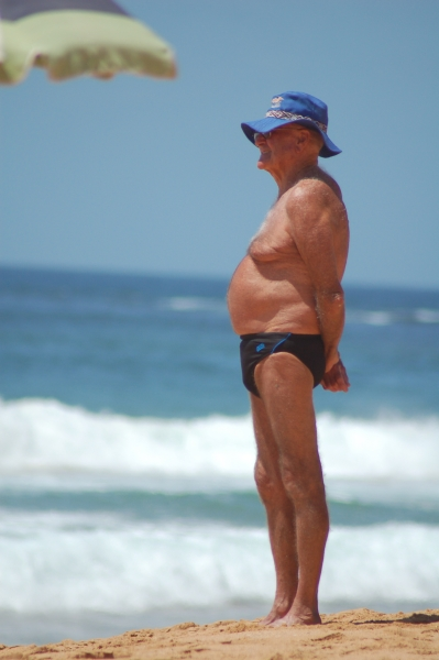 Fat Hairy Man In Speedo